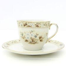 VINTAGE ROYAL DOULTON Mandalay Porcelaine Fine Tasse Thé Soucoupe Duo Set