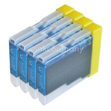 4x Tinte-Patronen DCP135C DCP150C DCP153C DCP157C MFC235C MFC260C LC1000 LC970 C