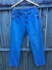 LEVIS Men's 501 Regular Fit Straight Leg Button Fly Jeans Waist 34 Length 32
