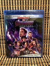 Avengers Endgame (2-Disc Blu-ray, 2019)Marvel.Captain America/Thor/Iron Man/Hulk