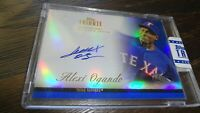 2012 TOPPS TRIBUTE ALEXI OGANDO  #11/50 AUTOGRAPHED BASEBALL CARD