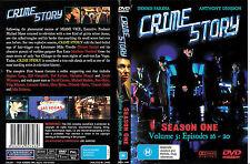 Crime Story-Season One Vol 5-1986, TV Series USA-5 Episodes-DVD-Region 4 Aust