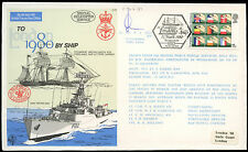 GB 1980 C70 To London By Ship Signed Flown Cover #C25001