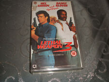 VHS VIDEO TAPE..COLLECTABLE.....LEATHAL WEAPON ..3......FREE POSTAGE..