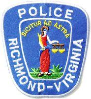 RICHMOND VIRGINIA STATE POLICE PATCH