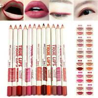 12PCS Women Waterproof Lipstick Lip Liner Long Lasting Matte Lipliner Pencil Set