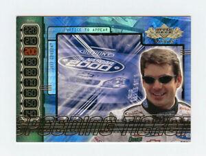 Jeff Gordon 2000 Upper Deck Racing Speeding Ticket Rainbow Holofoil Insert Card