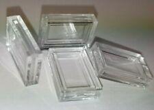 Set Kapseln für 1g Barren Gold, Silber, Platin 1 Gramm rechteckige Münzkapseln