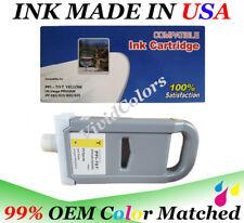 PFI707 New Compatible cartridge Canon IPF830 ink cartridge Yellow