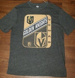 Majestic Vegas Golden Knights Hockey NHL, Men's Large, TEE T SHIRT EUC!