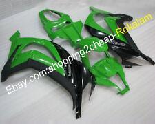For Kawasaki Ninja ZX-10R 2011 2012 2013 2014 2015 ZX10R Green Black ABS Fairing