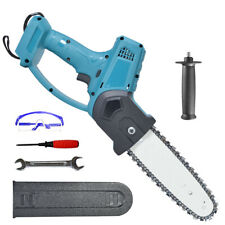 8in Electric Cordless Chainsaw Chain Saw Garden Cutting Tools For Makita Battery