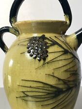 RARE VINTAGE PINECONE PITCHER. FRENCH AEGITNA VALLAURIS. PICASSO CONNECTION.