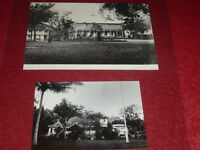 [PHOTOGRAPHIES POLYNESIE] TAHITI Hotel Gouvernement 1898 & Hab OUTUMAORO Coll.MH