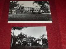 [PHOTOGRAPHIES POLYNESIE] TAHITI Hotel Gouvernement 1898 & Hab OUTUMAORO Coll.MH