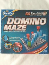 Domino Maze Chain Reaction Logic Puzzle - ThinkFun. New Sealed Box