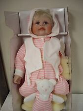 "Paradise Galleries-Treasury Collection, ""Hannah's Bedtime"" By Janna Kiestra Doll"