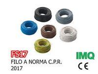 FS17 ( EX N07VK ) CAVO UNIPOLARE 10 MMQ VARI COLORI E METRATURE