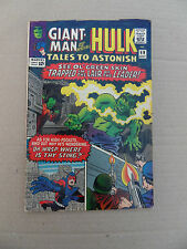 Tales To Astonish  69 . Last Giant Man / Kirby  . Marvel 1965 . FN