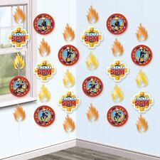 Fireman Sam Boys Birthday Party Hanging String Decorations