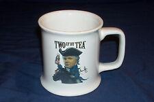 "Rush Limbaugh Coffee Mug ""Two if by Tea"" ""O say can you tea"" Talk show host"