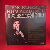 ENGELBERT HUMPERDINCK His Greatest Hits 1971 UK  Vinyl LP EXCELLENT CONDITION B