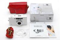 【UNUSED】Fujifilm Natura Classica White 35mm Point & Shoot + Bonus From JAPAN