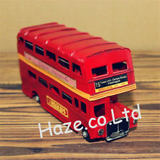 London Bus Red Bus Bus London Red Bus Metal Bus Toy Double Decker Bus