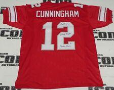 Randall Cunningham Signed UNLV Rebels Football Jersey BAS Beckett COA Autograph