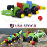 Wooden Pull Along Crocodile Toy - Beautiful Crocodile Pull Along Toy For Baby