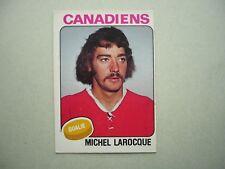 1975/76 O-PEE-CHEE NHL HOCKEY CARD #362 MICHEL LAROCQUE EX- SHARP 75/76 OPC