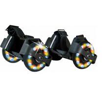 Roulettes talons/chaussures LED multicolore high-tech freestyle sport de glisse