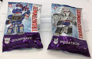Wendy's Transformer Megatron & Soundwave 35th Anniversary Lot Of 2