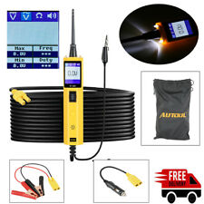 Car Circuit Tester Electrical System Diagnostic Tool 12V With LED&Long Cord