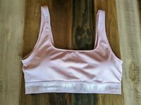 Victoria's Secret PINK Ultimate Sports Bra Sz Medium, Pale Pink