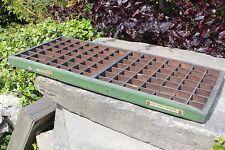 Bandeja de impresoras de Madera Vintage Cajón Original-Yorkshire Dales reciclar