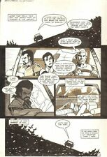 Planet of the Apes #16 p 10 - Malibu Comics - 1991 art by M.C. Wyman