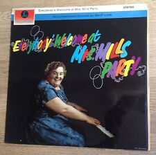 """UK LP Mrs Mills """"Everybody's welcome at Mrs Mills party"""" cheesecake 1963 EXC+  *"""