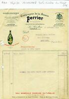Dépt 30 - Les Bouillens Vergèze - Belle Entête Célèbre Source Perrier 17/09/1928