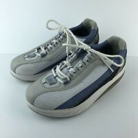 MBT Physiological Footwear Toning Walking Shoes Mesh Boost Blue Size 10 SH7