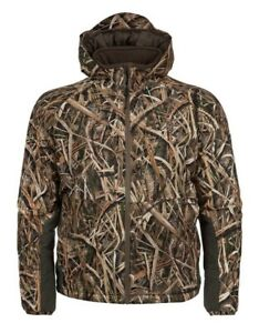 Hardcore Waterfowl Thermal Extreme Jacket Mossy Oak Size LG Duck Goose Hunting