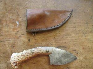 ANTIQUE VINTAGE BONE HANDLE KNIFE