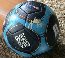 Alex Morgan Signed 2019 World Cup Soccer Ball Team USA Champs