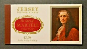 JERSEY PRESTIGE BOOKLET. MARTELL COGNAC. COMPLETE. SCARCE.