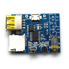 MP3 Format TF Card U Disk decoder board module amplifier audio decoding Player