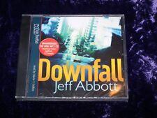 Jeff Abbott Downfall Audio Book on 1 MP3 CD BNIB - Sealed