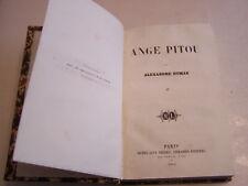 OEUVRES D ' ALEXANDRE DUMAS , ANGE PITOU TOME 2 . 1854 . 338 PAGES . BON ETAT .