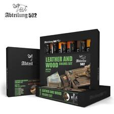 Abteilung 502 - OILS Paint SETS - Leather and Wood Set