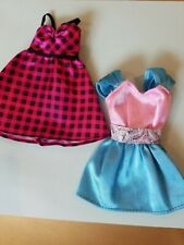 Barbie 90s Fashion Clothes Lot of two Dresses