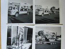 VTG CENTEL TELEPHONE CO SET OF 8 PHOTOS UNDERGROUND CABLE  MACHINERY & TRUCK